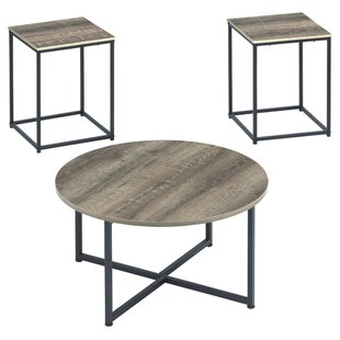 Best Wing Wadeworth 3 Piece Coffee Table Set By Williston Forge
