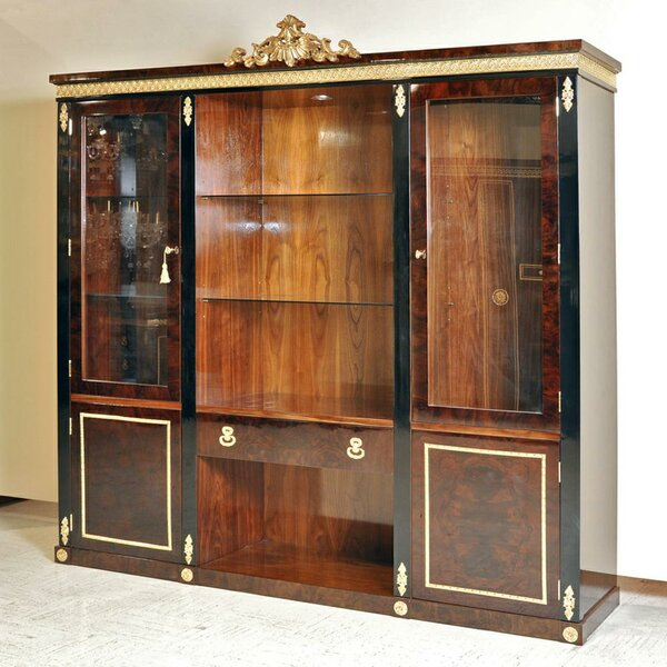 Review Aurora Library Bookcase