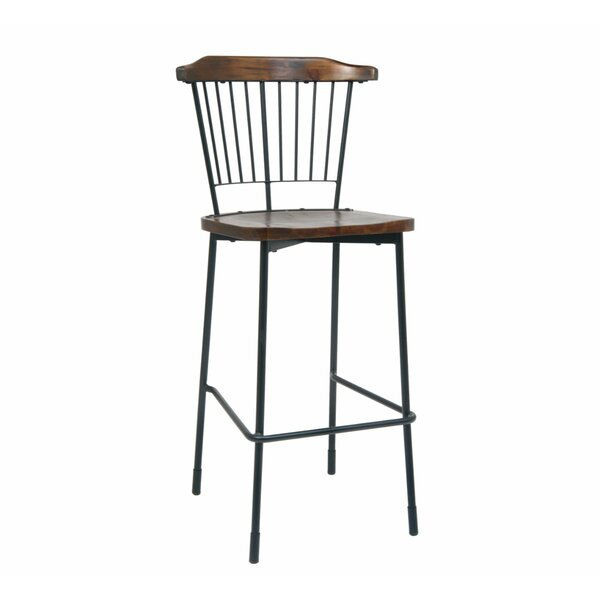 Solid Wood 30'' Bar Stool (Set of 2) by ERF Inc. ERF Inc.