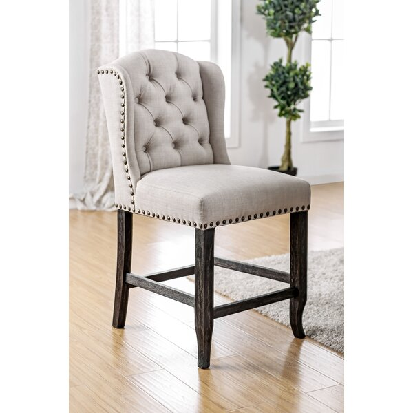 Yarmouth Transitional Dining Chair (Set of 2) by Three Posts