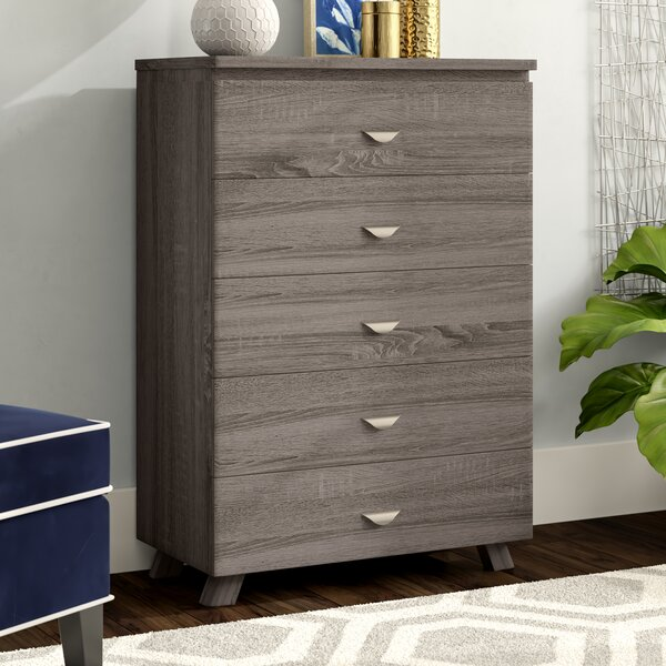 Clore Capacious 5 Drawer Chest by Ivy Bronx