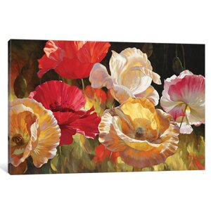 Poppy Celebration Painting on Wrapped Canvas by Andover Mills