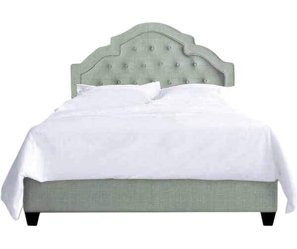 Sheila Upholstered Platform Bed by My Chic Nest