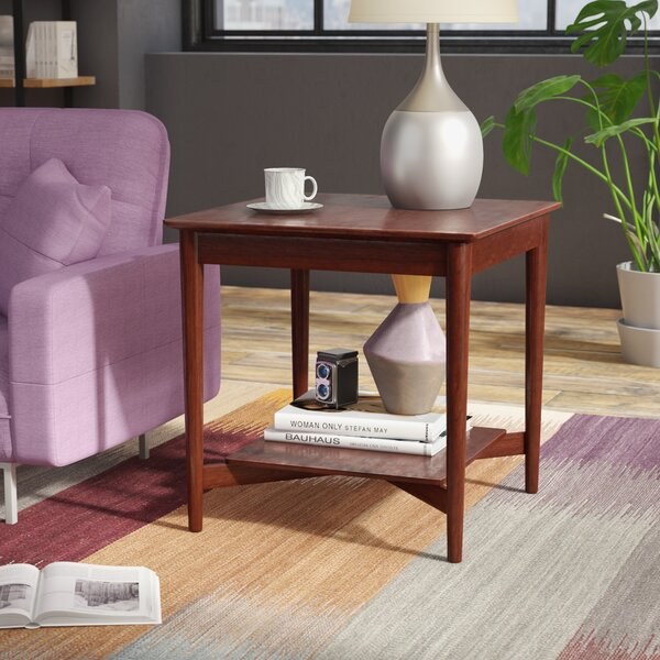 Review Ali Mid Century End Table