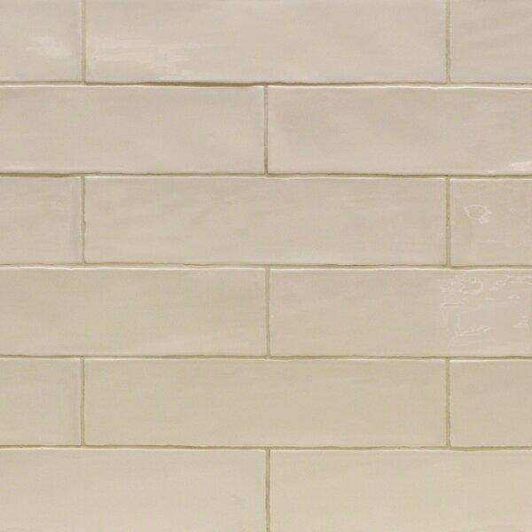 Catalina 3 x 12 Porcelain Subway Tile in Vanilla by Splashback Tile
