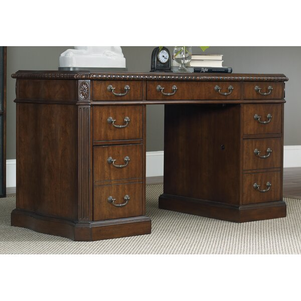 Knee Hole Executive Desk By Hooker Furniture.