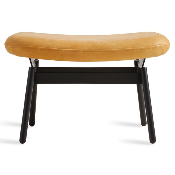 Field Leather Ottoman by Blu Dot