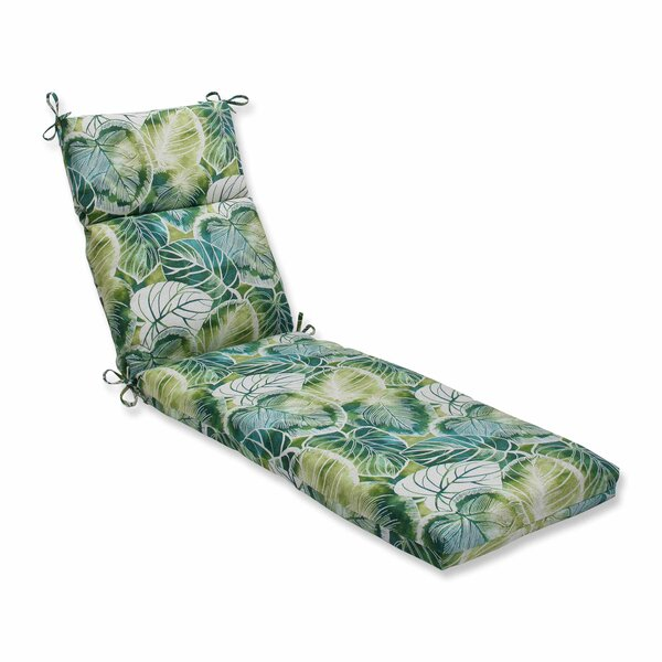 Key Cove Lagoon Indoor/Outdoor Chaise Lounge Cushion by Pillow Perfect
