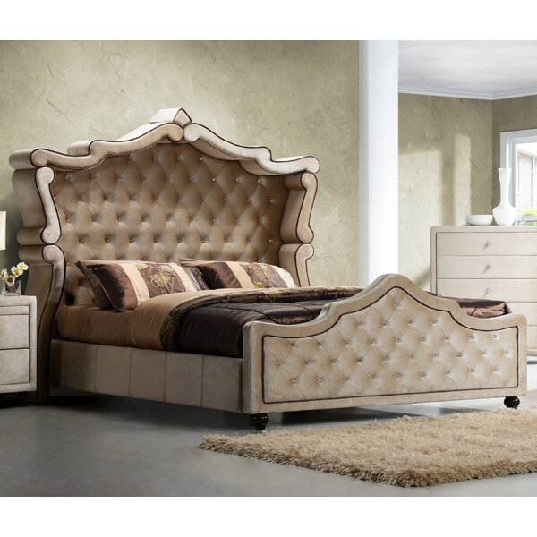 Sweeney Upholstered Platform Bed by Rosdorf Park