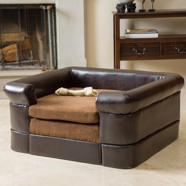 Deon Square Cushy Dog Sofa by Archie & Oscar