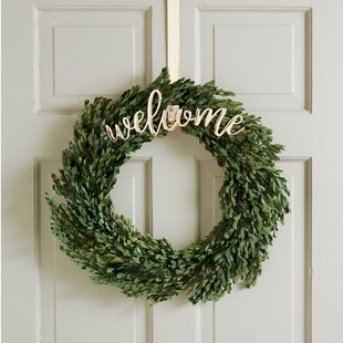 Exceptionnel Welcome Wreath Hanging Accessory