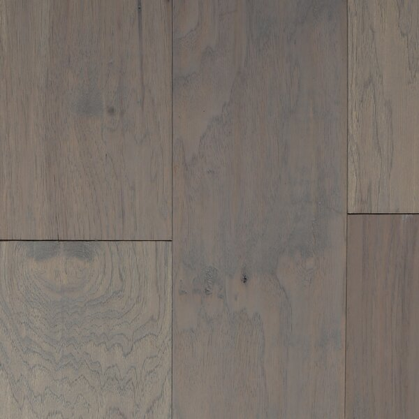 Oslow 7 Engineered Hickory Hardwood Flooring in Gray by Branton Flooring Collection