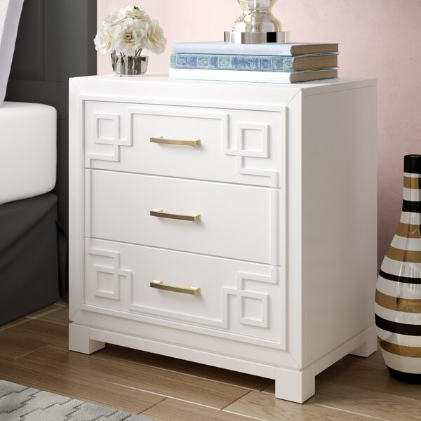 Bindera 3 Drawer Nightstand by Willa Arlo Interiors