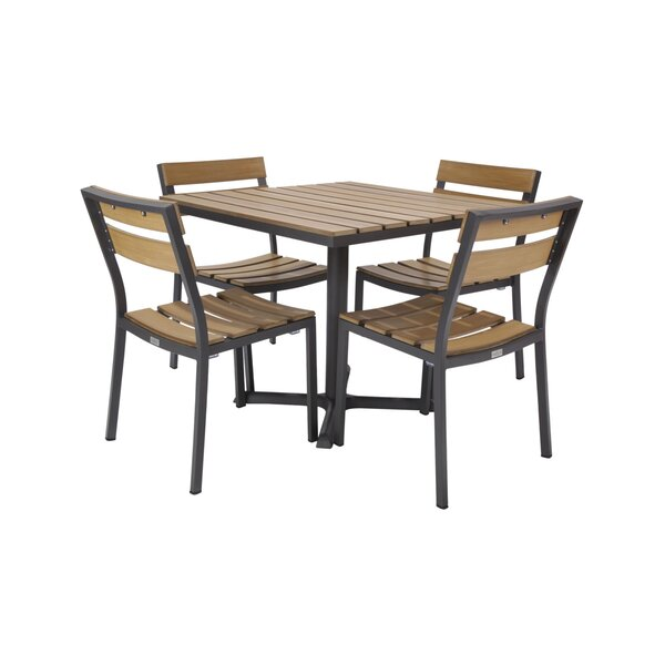 Asher 5 Piece Dining Set by Madbury Road