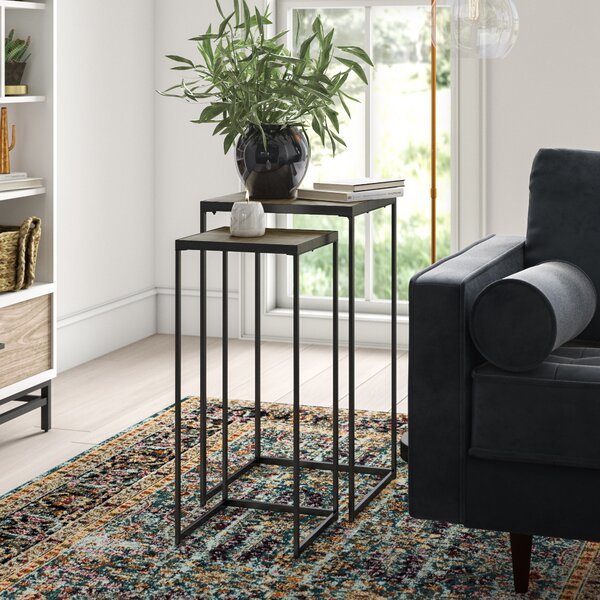 Arnoldsville 2 Piece Nesting Tables by Mistana