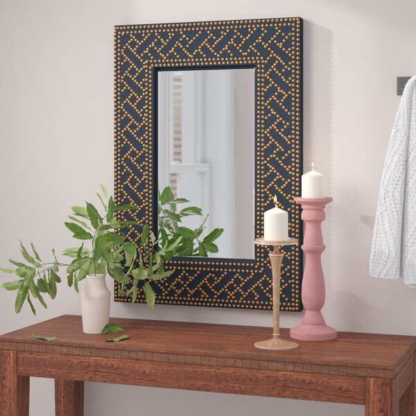 Valkenburg Eclectic Coastal Accent Wall Mirror by
