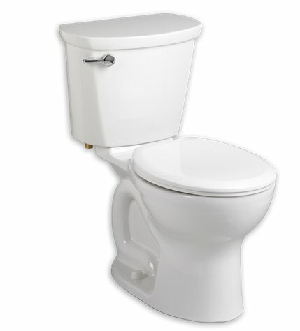 Cadet Pro 1.6 GPF Round Two-Piece Toilet by Americ
