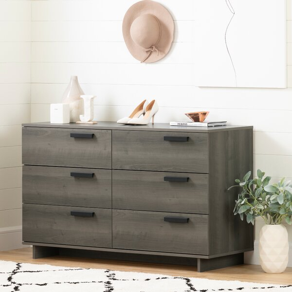 Cavalleri 6 Drawer Standard Dresser by South Shore