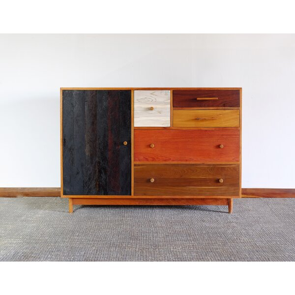 Combo 5 Drawer Combo Dresser by Masaya & Co