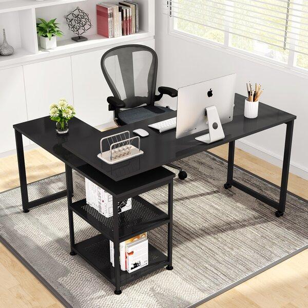 Reversible L-Shape Desk