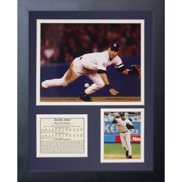 Derek Jeter Framed Memorabilia by Legends Never Die