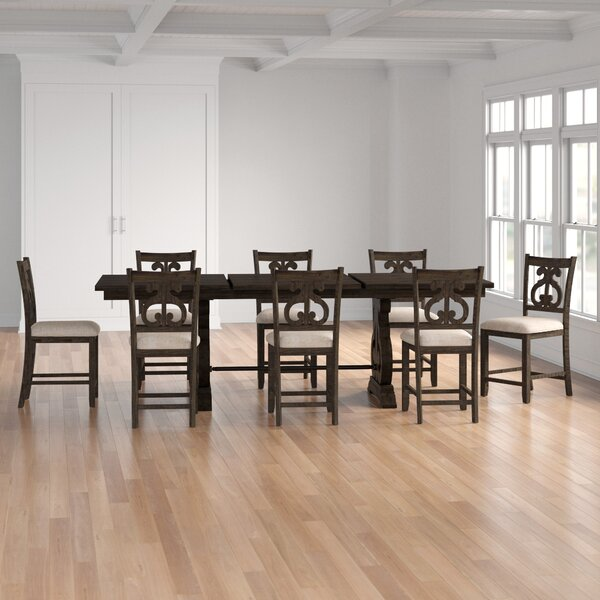 Kenworthy 9 Piece Extendable Dining Set by Three Posts Three Posts