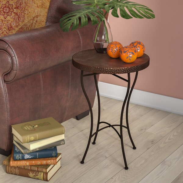 Amgala End Table By World Menagerie