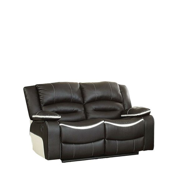 Mundt Reclining Loveseat by Ebern Designs