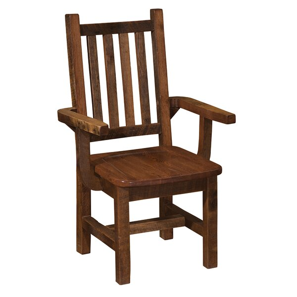 Prairie Solid Wood Dining Chair by Fireside Lodge