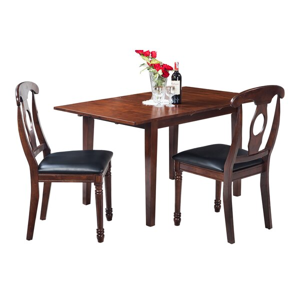 Assante Modern 3 Piece Solid Wood Dining Set By Alcott Hill Read Reviews