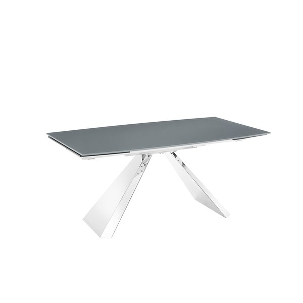 Modern Stanza Motorized Extendable Dining Table By Casabianca Furniture 2019 Sale