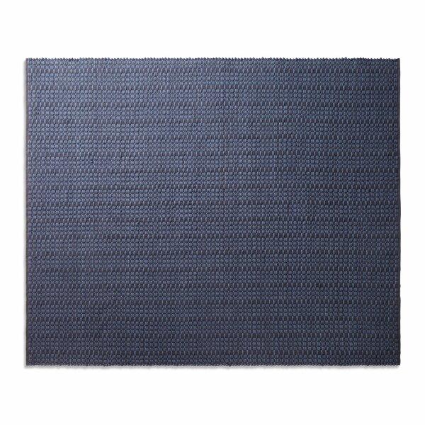 Weft Dark Blue Area Rug by Blu Dot
