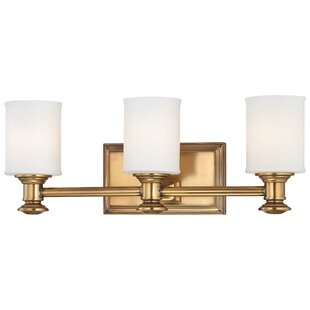 Affordable Bowers 3-Light Vanity Light By Beachcrest Home