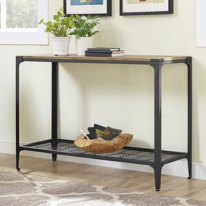 Arboleda Rustic Wood Console Table by Loon P..