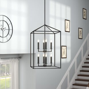 Odie 8-Light Foyer Pendant by Laurel Foundry Modern Farmhouse