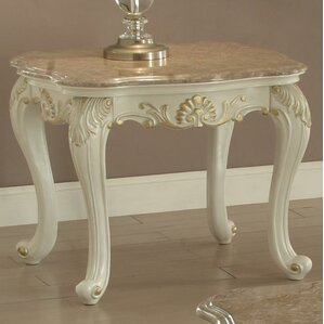 Wensley End Table by Astoria Grand