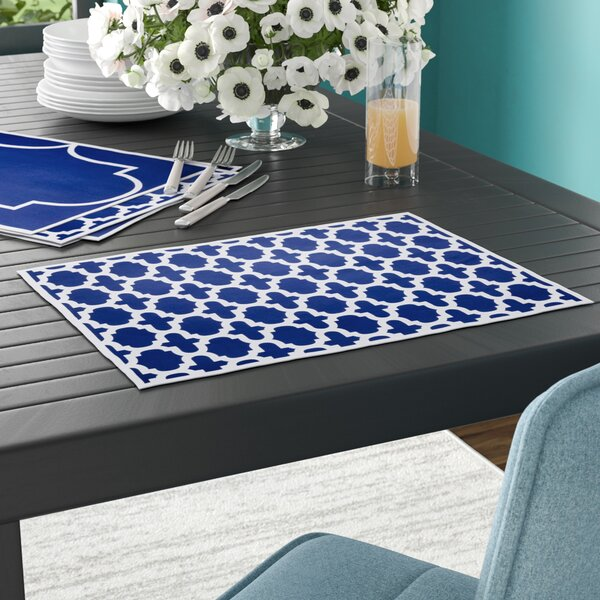 Gargano Reversible Placemat (Set of 24) by Ivy Bronx