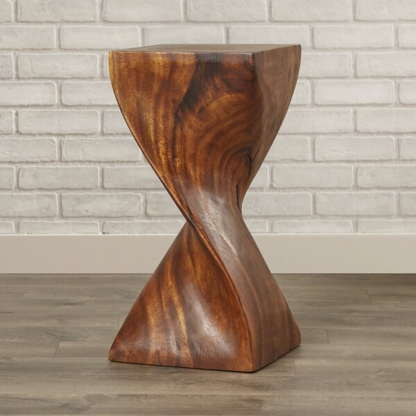 Emerfield Single Twist End Table by Loon Peak