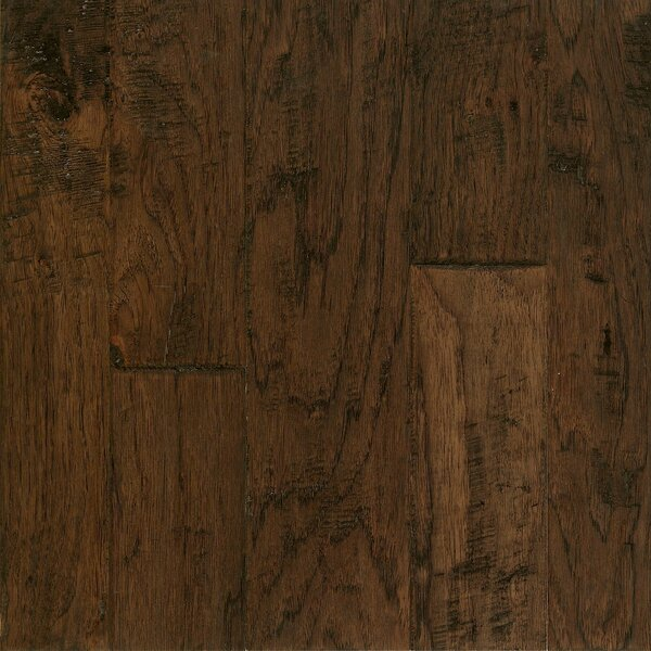 Artesian Random Width Engineered Hickory Hardwood Flooring in Barrel Brown by Armstrong Flooring