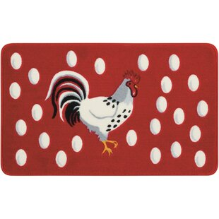 Shopping for Greenmeadow Red/White Novelty Rug ByAugust Grove