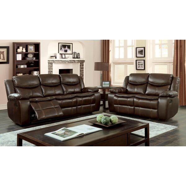 Kyla Reclining 2 Piece Living Room Set by Red Barrel Studio