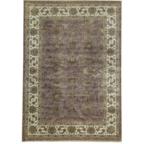 Mountain King Hand-Knotted Wool Gray/Beige Rug