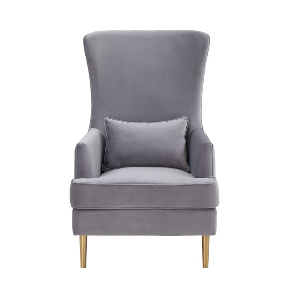 Alina Wingback Chair by Inspire Me! Home Dcor Inspire Me! Home Décor