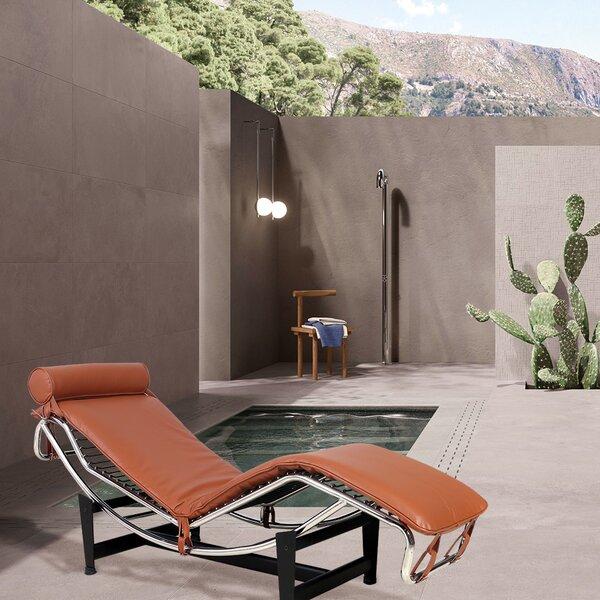Ekanta Reclining Chaise Lounge with Cushion
