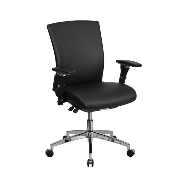 Ash Multi-Functional Mid-Back Executive Chair by Latitude Run