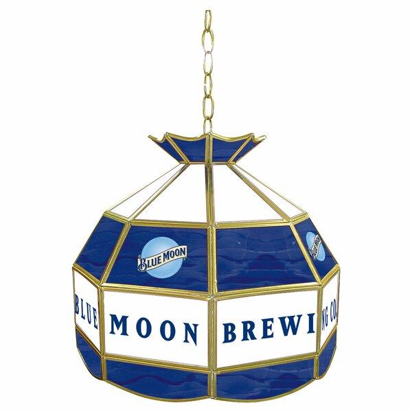 Blue Moon 1-Light Pool Table Lights Pendant by Trademark Global