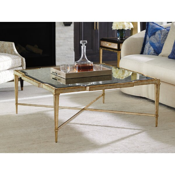 Carlyle Cross Legs Coffee Table By Lexington