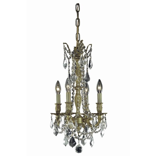 Utica 4-Light Candle Style Chandelier by Astoria Grand
