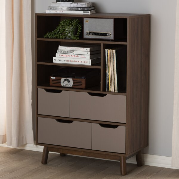 Hilson Bookcase by Wrought Studio