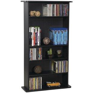 CD and DVD Multimedia Storage Rack  sc 1 st  Wayfair & CD u0026 DVD Media Storage Youu0027ll Love | Wayfair